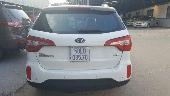 Bán Kia New Sorento 2.2AT CRDi màu trắng 2014 máy dầu 7