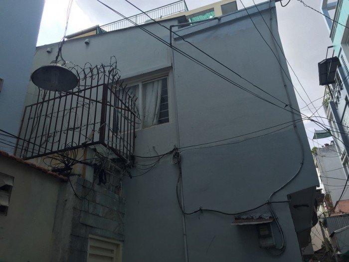 Hẻm rộng Nguyễn Thiện Thuật 3.2x10.5m nh 4.2m 1 lầu