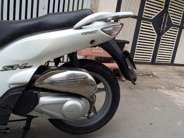 Honda SH 150cc, nguyên thủy,BSTP, màu trắng, máy êm, bs đẹp