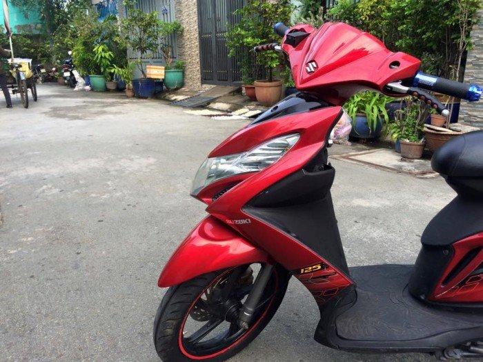Suzuki Hayate ( skydrive ) nhập khẩu,màu đỏ,máy ngon lắm