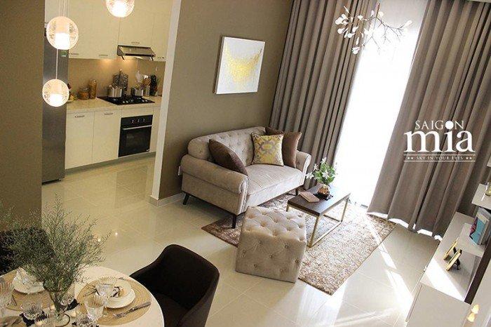 Cần bán gấp căn hộ Sài Gòn Mia khu Trung Sơn  giá hấp dẫn