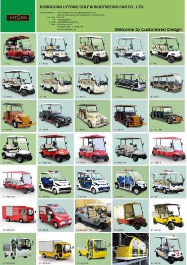 Bán xe điện sân golf 1