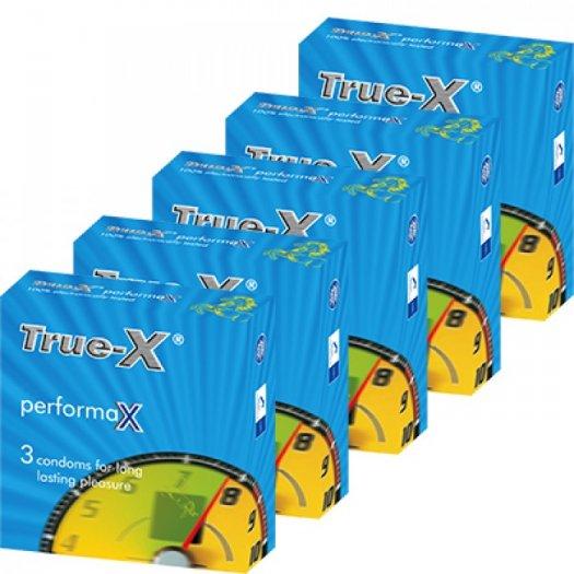 Combo 5 hộp Bao cao su kéo dài thời gian PerformaX