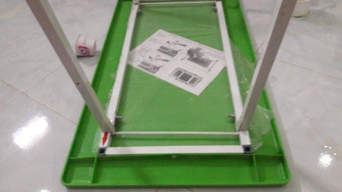 Bàn nhựa chân sắt hộp sơn tĩnh điện rẻ nhất1