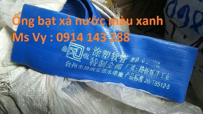 Ống bạt xanh xả nước D150 chính hãng chất lượng cao0