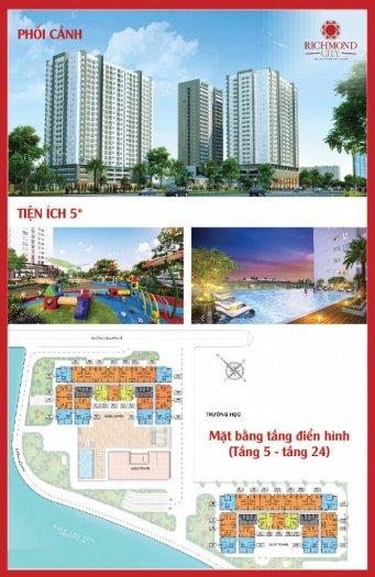 Hưng thịnh corp mở bán block richmond city & khai trương nhà mẫu, giá 1,6tỷ/căn/65m2. Ck 3-5-18%