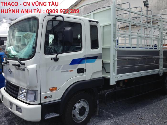 Trường hải vũng tàu bán xe 3 chân thaco hyundai hd210 (6x2r) 1