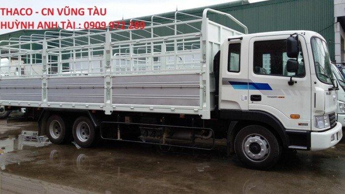 Trường hải vũng tàu bán xe 3 chân thaco hyundai hd210 (6x2r) 3