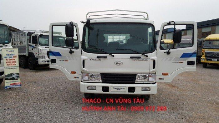 Trường hải vũng tàu bán xe 3 chân thaco hyundai hd210 (6x2r) 4