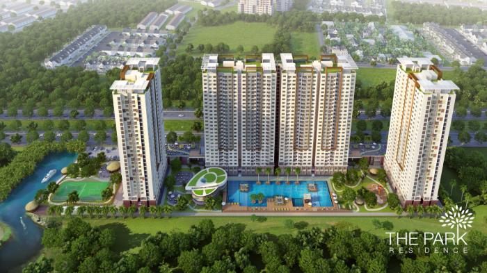 Cần bán gấp căn hộ CC The Park Residence 78m2 giá 1.9 tỷ