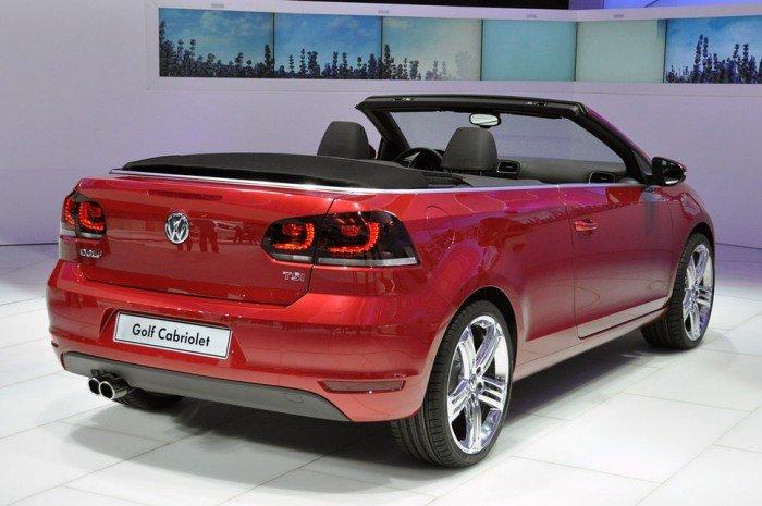 Volkswagen golf cabriolet - xe thể thao 2 cửa mui trần 2