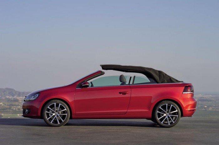 Volkswagen golf cabriolet - xe thể thao 2 cửa mui trần 4