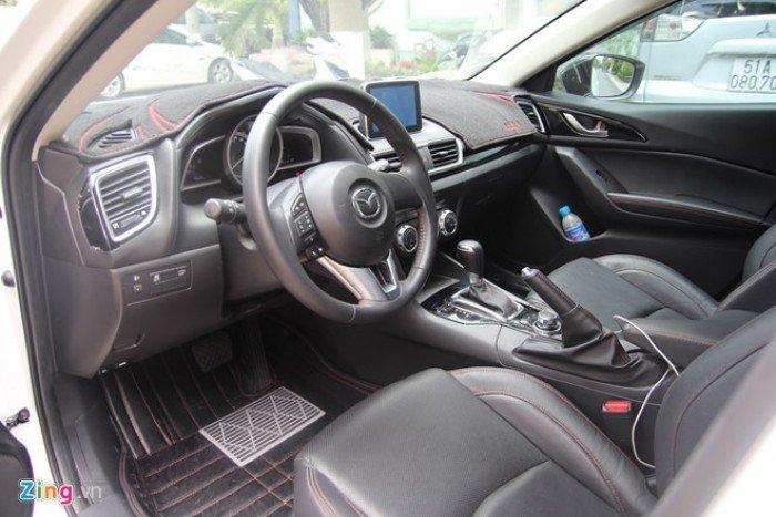 Bán xe MAzda 3 Sedan 1.5 màu trắng , cam kết giá rẻ nhất VĨnh Phúc 6