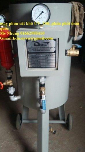 Cơ sở Sản Xuất Máy Phun Cát Khô, ướt DT - 100, DT- 200, DT- 300, hàng có sẵn