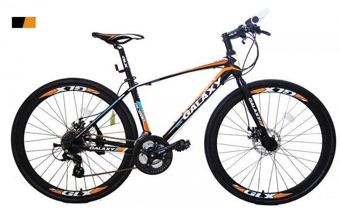 Xe đạp Galaxy RL500 2016, mới 100%, miễn phí giao hàng màu đen cam