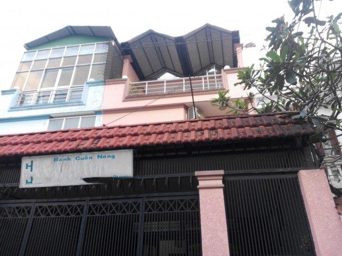 Nhà mt trần hữu trang, p11, q.pn, dt: 5x14.5m , 5tỷ8
