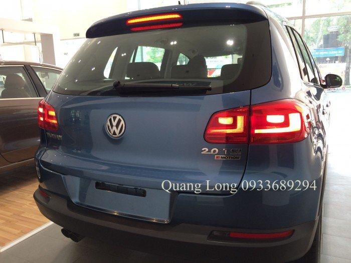 VOLKSWAGEN TIGUAN màu xanh nhập Đức - đối thủ của CX5, CRV, BMW X1 0