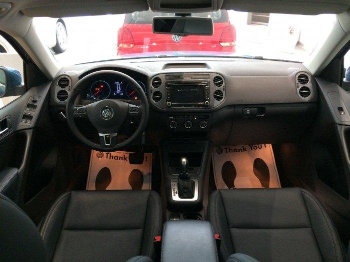 VOLKSWAGEN TIGUAN màu xanh nhập Đức - đối thủ của CX5, CRV, BMW X1 2