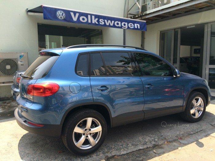 VOLKSWAGEN TIGUAN màu xanh nhập Đức - đối thủ của CX5, CRV, BMW X1 3