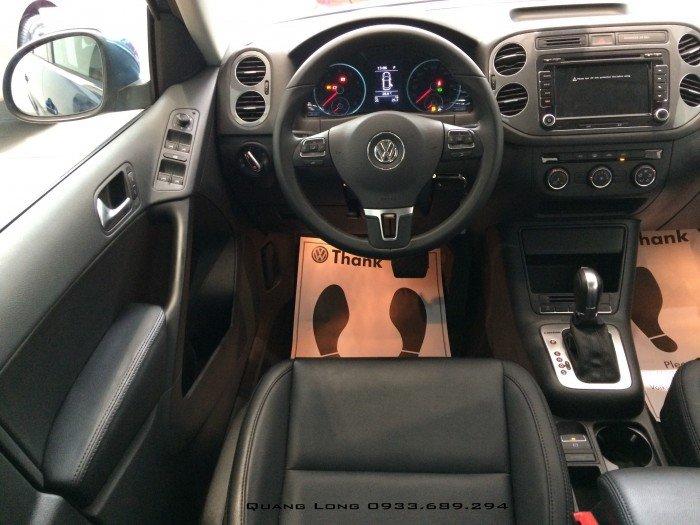 VOLKSWAGEN TIGUAN màu xanh nhập Đức - đối thủ của CX5, CRV, BMW X1 4