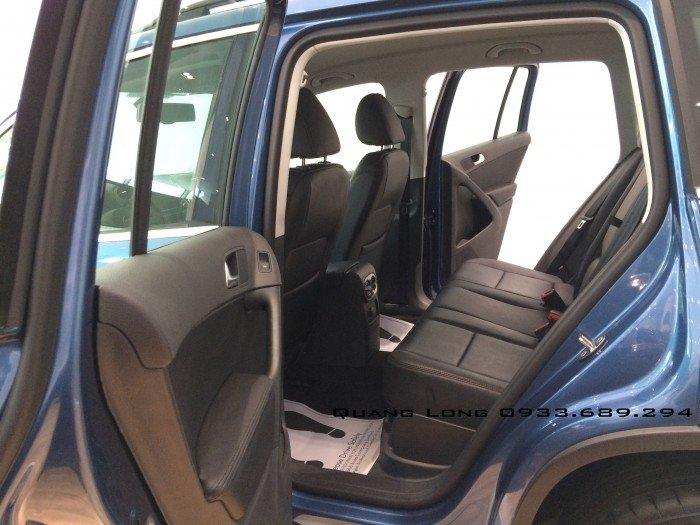 VOLKSWAGEN TIGUAN màu xanh nhập Đức - đối thủ của CX5, CRV, BMW X1 5