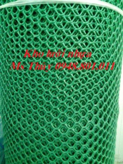 Lưới mắt cáo nhựa được làm từ loại vật liệu nhựa tốt bền bỉ và chịu lực1