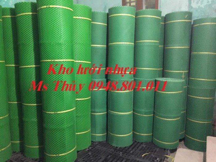 Lưới mắt cáo nhựa được làm từ loại vật liệu nhựa tốt bền bỉ và chịu lực2
