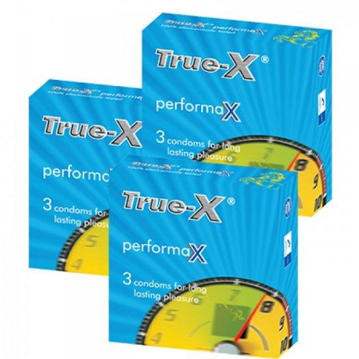 Combo 3 hộp Bao cao su kéo dài thời gian PerformaX