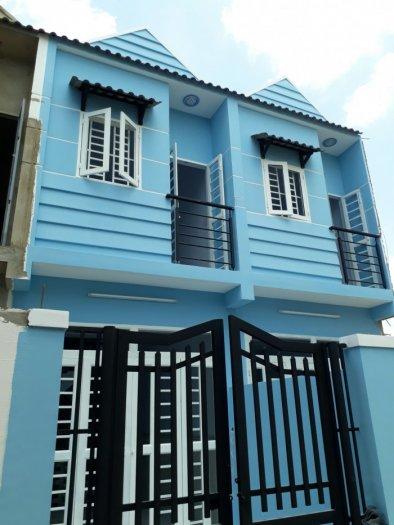 Nhà phố giá rẻ TL37 Phường Thạnh Lộc, quận 12 DT 3x10m giá 580tr