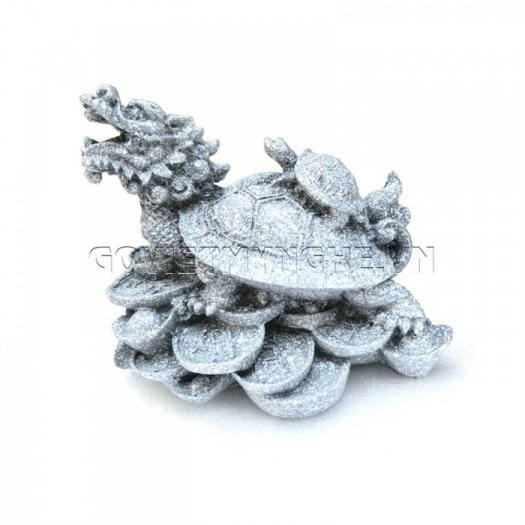 Tượng Đá Long Quy Phong Thủy (Màu Đá)  + Kích thước: Dài 12cm x Rộng 8cm x Cao 10cm . Giá 195.000₫7