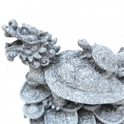 Tượng Đá Long Quy Phong Thủy (Màu Đá)  + Kích thước: Dài 12cm x Rộng 8cm x Cao 10cm . Giá 195.000₫8