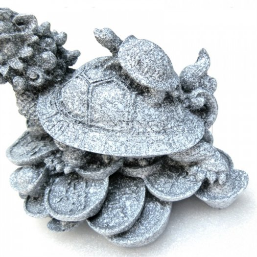 Tượng Đá Long Quy Phong Thủy (Màu Đá)  + Kích thước: Dài 12cm x Rộng 8cm x Cao 10cm . Giá 195.000₫10