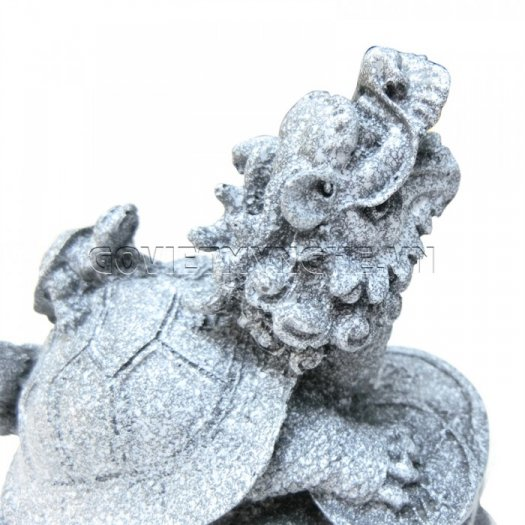Tượng Đá Long Quy Phong Thủy (Màu Đá)  + Kích thước: Dài 12cm x Rộng 8cm x Cao 10cm . Giá 195.000₫11