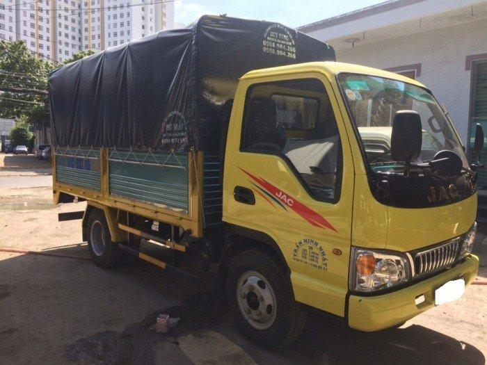 Bán xe tải JAC 2t4 | Giá xe tải JAC 2018 | xe tải JAC 2t4 thùng dài 3.7 mét 0