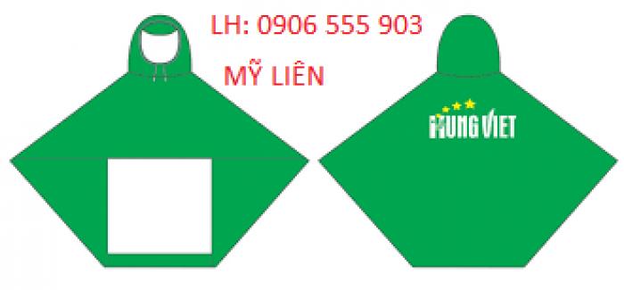 Sản xuất cung cấp áo mưa,in logo áo mưa tại Đà Nẵng giá ưu đãi0