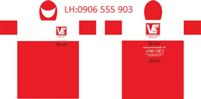 Sản xuất cung cấp áo mưa,in logo áo mưa tại Đà Nẵng giá ưu đãi2