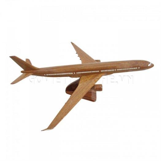 Mô Hình Máy Bay Gỗ Airbus A330