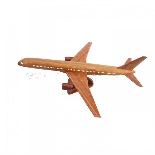 Mô Hình Máy Bay Gỗ Boeing B757
