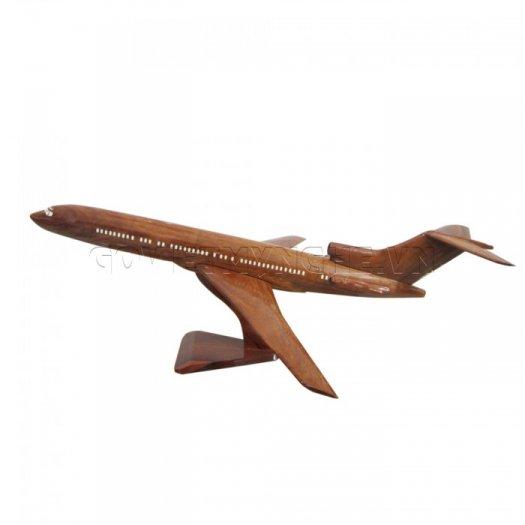 Mô Hình Máy Bay Gỗ Boeing B727
