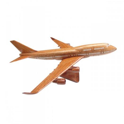 Mô Hình Máy Bay Gỗ Boeing B747