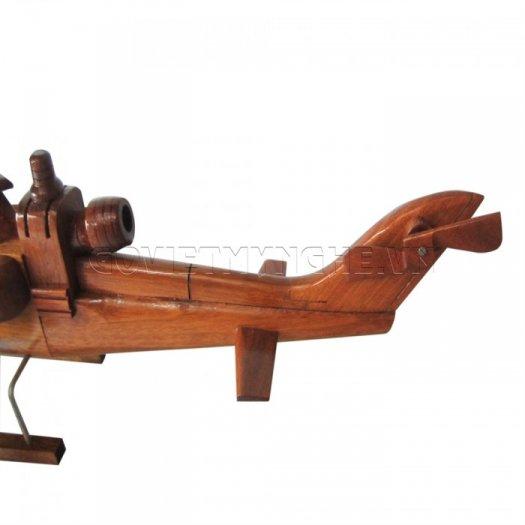 Mô Hình Máy Bay Trực Thăng Gỗ AH1 - Cobra,Dài 44 x Rộng 17 x Cao 17 (cm), Giá - 350.000đ