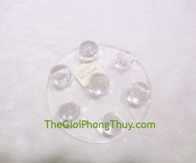 Đĩa thất tinh thạch anh trắng trung FGM0892