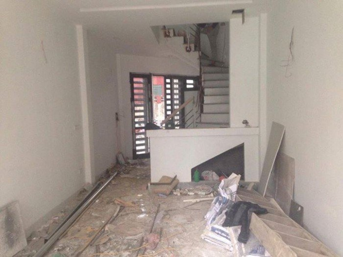 Cho thuê nhà mới tại Thái Thịnh 1;Đống Đa;giá 25tr;Dt40mx5T