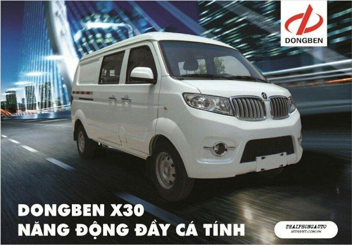 DONGBEN DB x30 tải van đi trong nội thành 950kg
