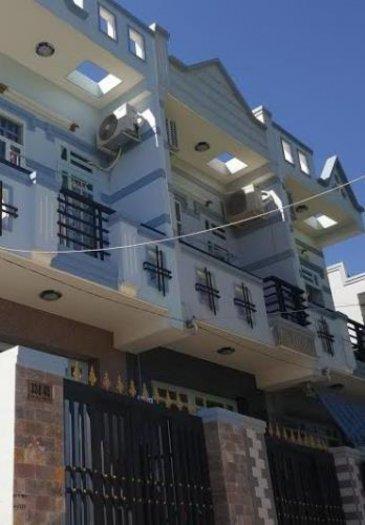 Bán nhà Bình Chánh 1 trệt 1 lầu 110m2, SHR 100%, giá 500 triệu