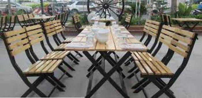 Ghế gỗ quán nhậu giá rẻ0