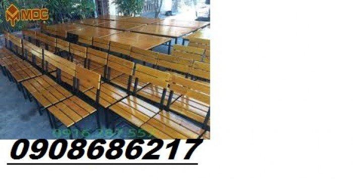 Ghế gỗ quán nhậu giá rẻ1