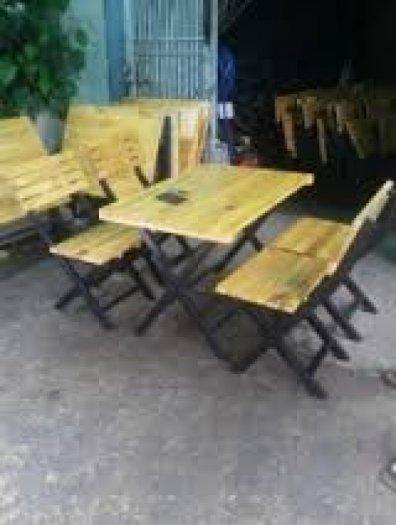 Ghế gỗ quán nhậu giá rẻ3