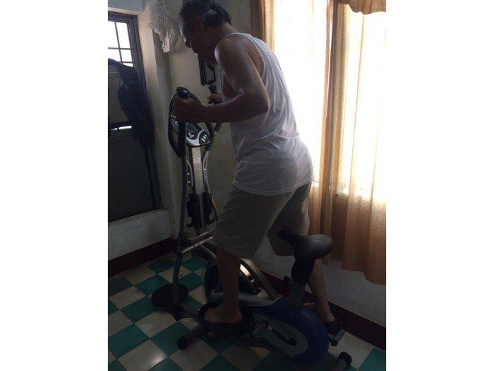 Xe đạp tập đa năng có tạ 2085 tại quy nhơn-gia lai-nha trang1