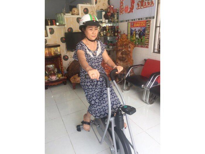 Xe đạp tập liên hoàn dành cho người già ,và người tai biến ở quy nhơn0